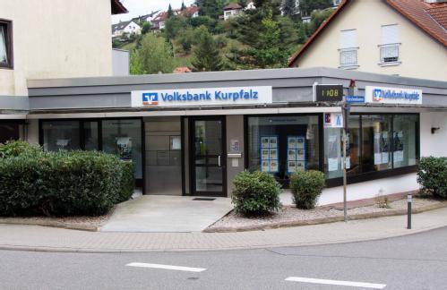 Volksbank Kurpfalz eG, Volksbank Kurpfalz eG - SB-Filiale Ziegelhausen-Steinbach, Peterstaler Str. 135, 69118, Heidelberg