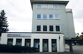 Volksbank Stuttgart eG, Volksbank Stuttgart eG Filiale Berliner Platz, Cannstatter Straße 40, 70734, Fellbach