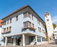Volksbank Allgäu-Oberschwaben eG, Volksbank Allgäu-Oberschwaben eG Geschäftsstelle Leutkirch Gänsbühl, Gänsbühl 1, 88299, Leutkirch im Allgäu