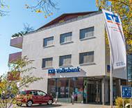 Volksbank Allgäu-Oberschwaben eG, Volksbank Lindau Zweigniederlassung der Volksbank Allgäu-Oberschwaben eG, Am Köchlinweiher 2, 88131, Lindau (Bodensee)
