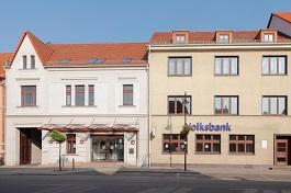 Volksbank Jerichower Land eG, Volksbank Jerichower Land eG, Filiale Gommern, Martin-Schwantes-Str.7/8, 39245, Gommern