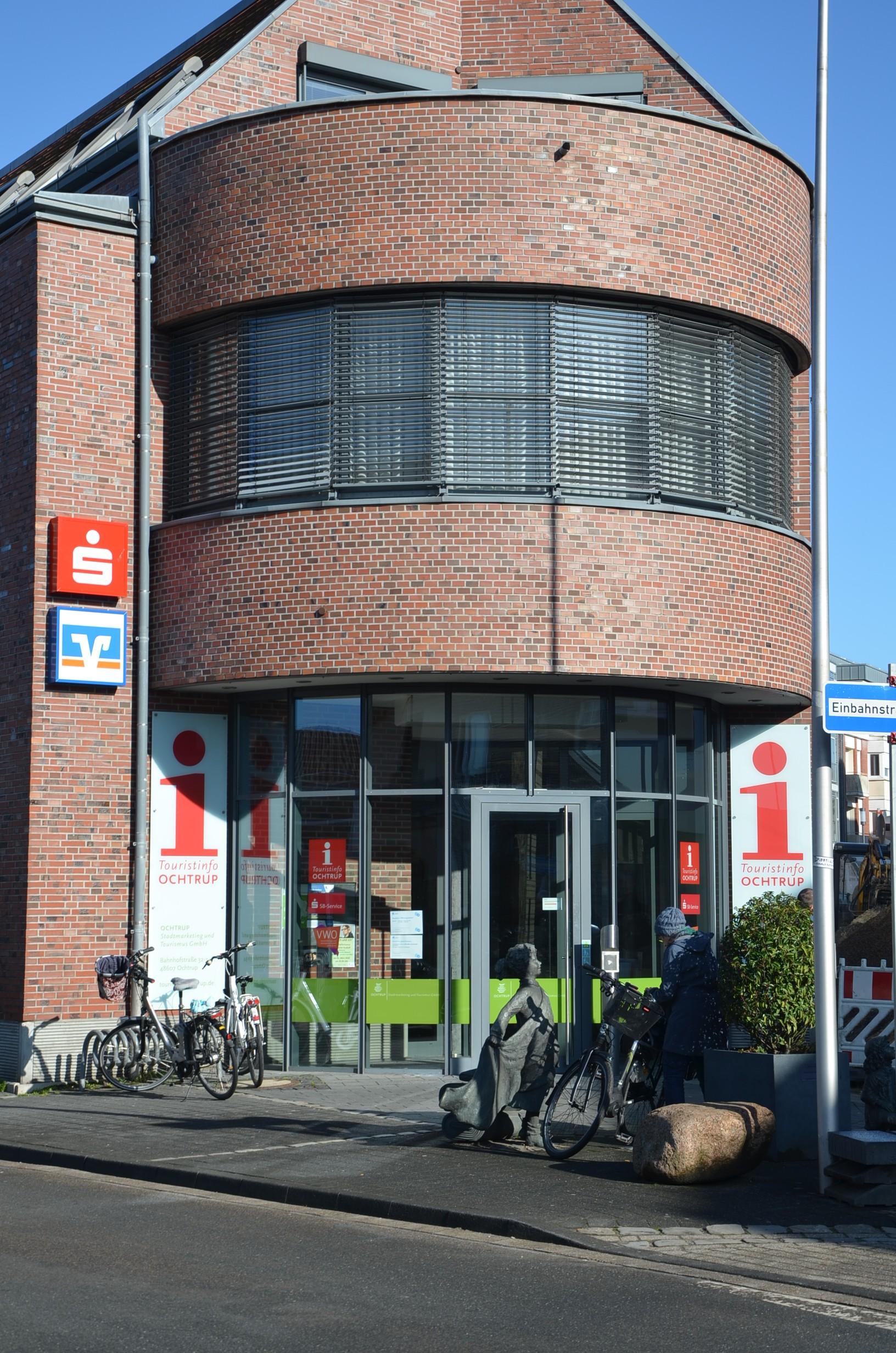 Volksbank Ochtrup-Laer eG, Volksbank Ochtrup-Laer eG - SB-Filiale Bahnhofstraße, Bahnhofstraße 17, 48607, Ochtrup