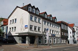 Volksbank Hohenzollern-Balingen eG, Volksbank Hohenzollern-Balingen eG, Geschäftsstelle  Burladingen, Hauptstraße 51 - 53, 72393, Burladingen