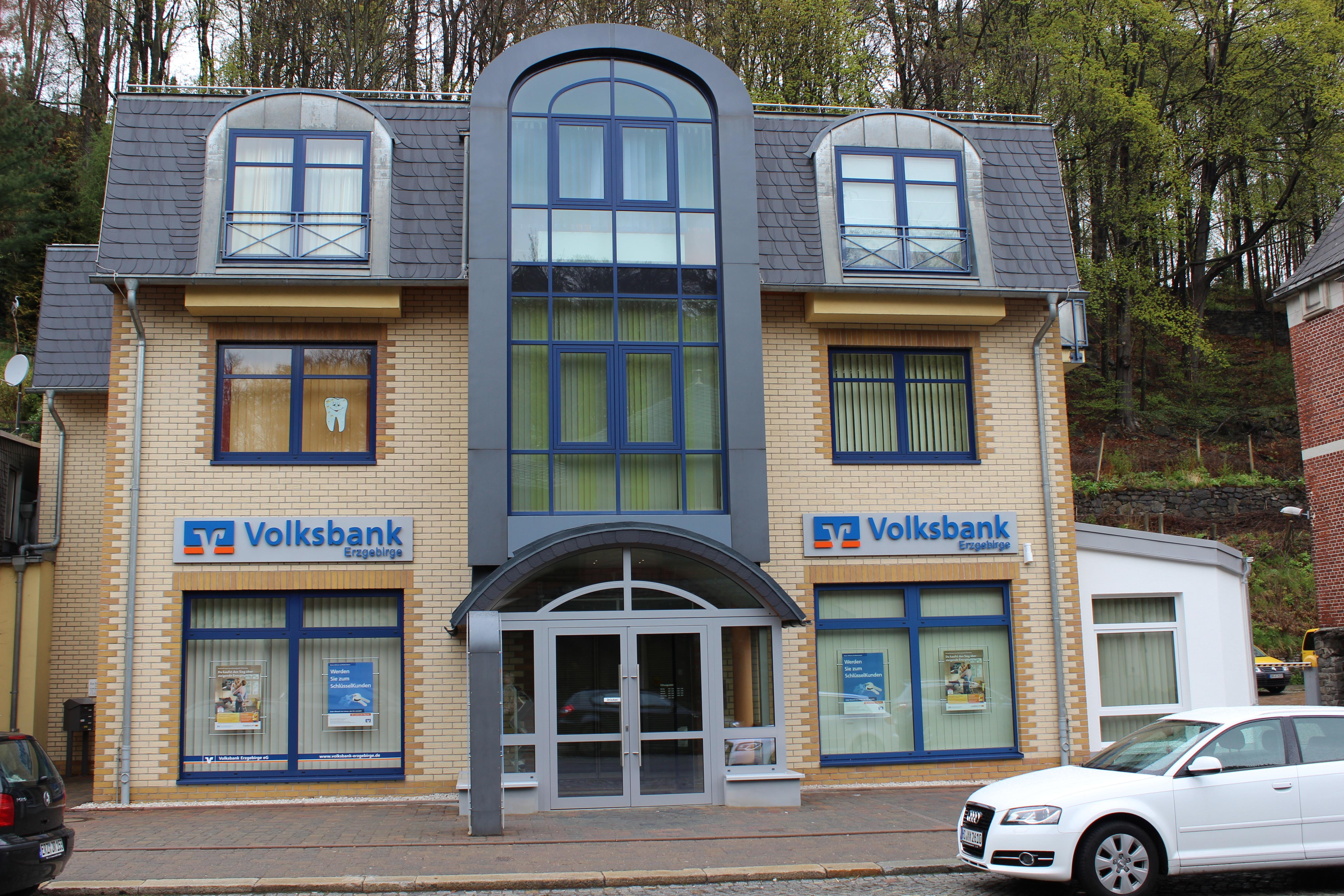 Volksbank Chemnitz eG, Volksbank Erzgebirge - Zweigniederlassung der Volksbank Chemnitz eG , Bahnhofstr. 11b, 08340, Schwarzenberg
