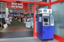 Volksbank Alzey-Worms eG, SB-Stelle Media-Markt, Schönauer Str. 16, 67547, Worms