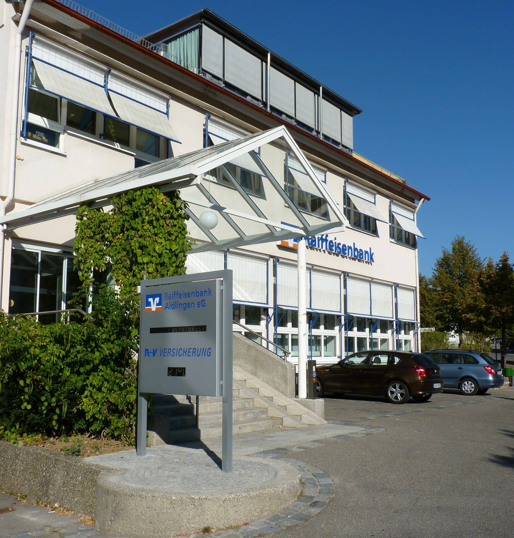 Raiffeisenbank Aidlingen eG, Raiffeisenbank Aidlingen eG, Hauptstrasse 8, 71134, Aidlingen
