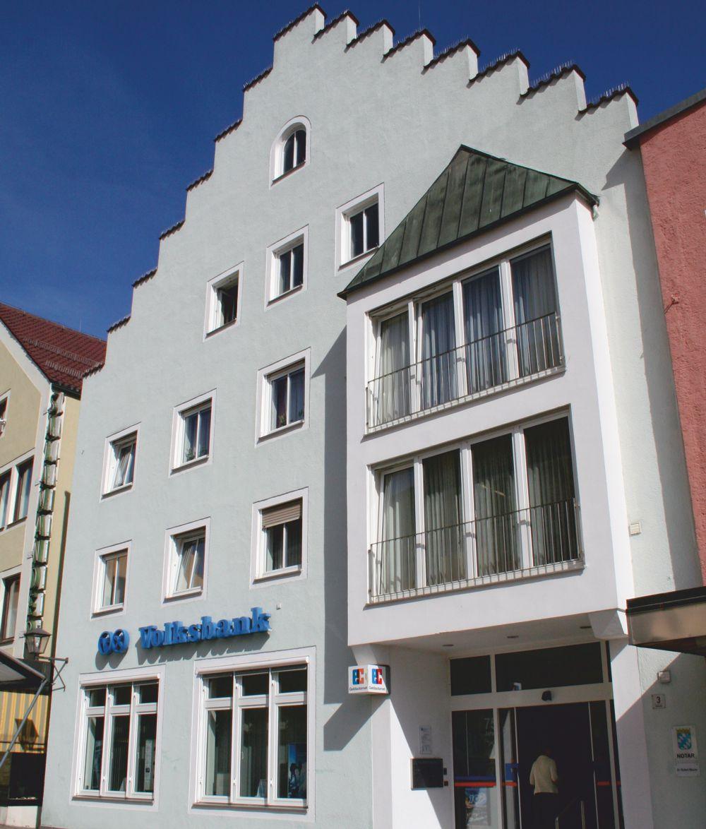 Volksbank Straubing eG, Volksbank Straubing eG, Hauptgeschäftsstelle Cham, Marktplatz 3, 93413, Cham