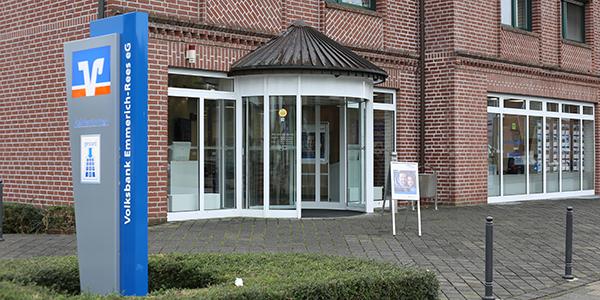 Volksbank Emmerich-Rees eG, Volksbank Emmerich-Rees eG Zweigstelle Leegmeer, Wassenbergstr 48-50, 46446, Emmerich am Rhein