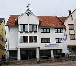 Volksbank Hohenzollern-Balingen eG, Volksbank Hohenzollern-Balingen eG, Geschäftsstelle Gammertingen, Sigmaringer Straße 5, 72501, Gammertingen