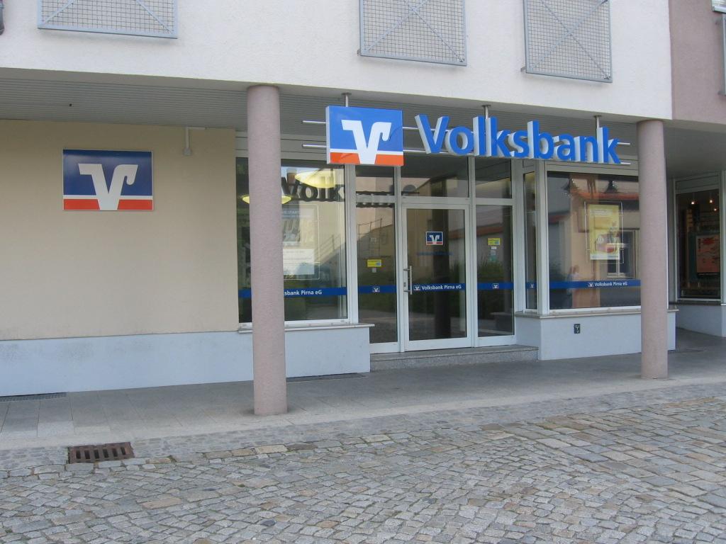 Volksbank Pirna eG, Volksbank Pirna eG, Böhmische Straße 4, 01844, Neustadt