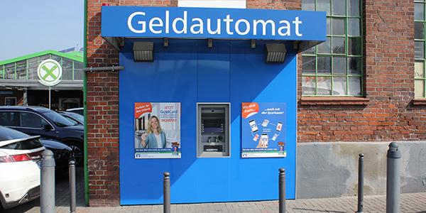 Volksbank Emmerich-Rees eG, Volksbank Emmerich-Rees eG SB-Stelle Raiffeisenmarkt, Groiner Kirchweg 62-64, 46459, Rees