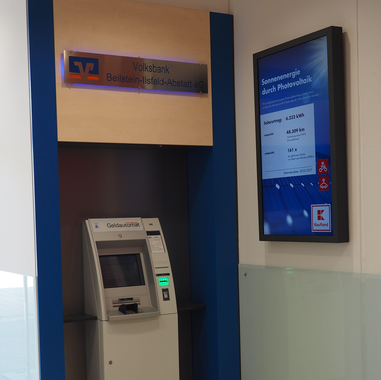 Volksbank Beilstein-Ilsfeld-Abstatt eG, Volksbank Beilstein-Ilsfeld-Abstatt eG Kaufland Ilsfeld, Robert-Mayer-Str. 19, 74360, Ilsfeld