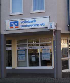 Volksbank Lauterecken eG, Geschäftsstelle Wolfstein, Hauptstr. 8, 67752, Wolfstein