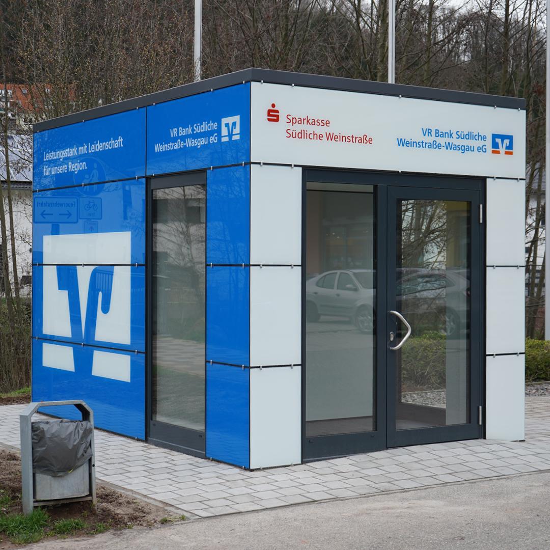 VR Bank Südliche Weinstraße-Wasgau eG, VR Bank Südliche Weinstraße-Wasgau eG, SB-Geschäftsstelle Annweiler, Landauer Str. 33, 76855, Annweiler am Trifels