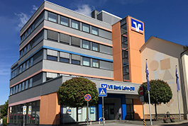 VR Bank Lahn-Dill eG, VR Bank Lahn-Dill eG Hauptstelle Biedenkopf, Bachgrundstraße 16-18, 35216, Biedenkopf