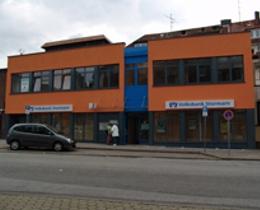Volksbank Raiffeisenbank eG, Filiale Bergedorf   Volksbank Bergedorf • Niederlassung der Volksbank Raiffeisenbank eG, Sachsentor 55, 21029, Hamburg