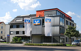 Volksbank Hohenzollern-Balingen eG, Volksbank Hohenzollern-Balingen eG, Geschäftsstelle Hechingen, Hospitalstraße 14, 72379, Hechingen