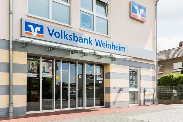 Volksbank Kurpfalz eG, Volksbank Kurpfalz eG - Filiale Hemsbach, Am Kurpfalzkreisel 1, 69502, Hemsbach