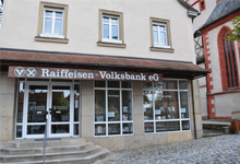 Raiffeisen-Volksbank Haßberge eG, Raiffeisen-Volksbank Haßberge eG, Filiale Hofheim, Marktplatz 4, 97461, Hofheim