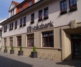Volksbank eG Gera • Jena • Rudolstadt, Volksbank eG Gera • Jena • Rudolstadt, Hauptstelle Marktstraße Rudolstadt, Marktstraße 22, 07407, Rudolstadt