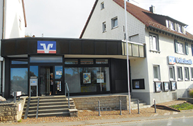 Volksbank Stuttgart eG, Volksbank Stuttgart eG Filiale Weiler zum Stein, Heidenhofer Straße 2, 71397, Leutenbach