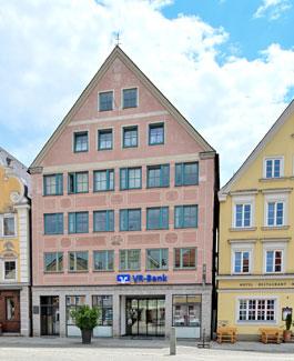 VR-Bank Memmingen eG, VR-Bank Memmingen eG, Filiale Mindelheim, Maximilianstr. 37, 87719, Mindelheim
