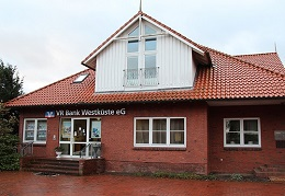 VR Bank Westküste eG, Filiale Nordhastedt, Bahnhofstr 2, 25785, Nordhastedt