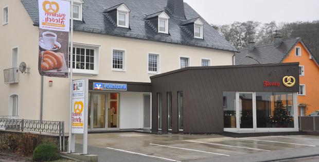 Volksbank Eifel eG, Servicepoint Oberweis, Neuerburger Straße 9, 54636, Oberweis