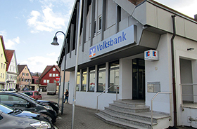 Volksbank Stuttgart eG, Volksbank Stuttgart eG Filiale Rudersberg, Marktplatz 12, 73635, Rudersberg