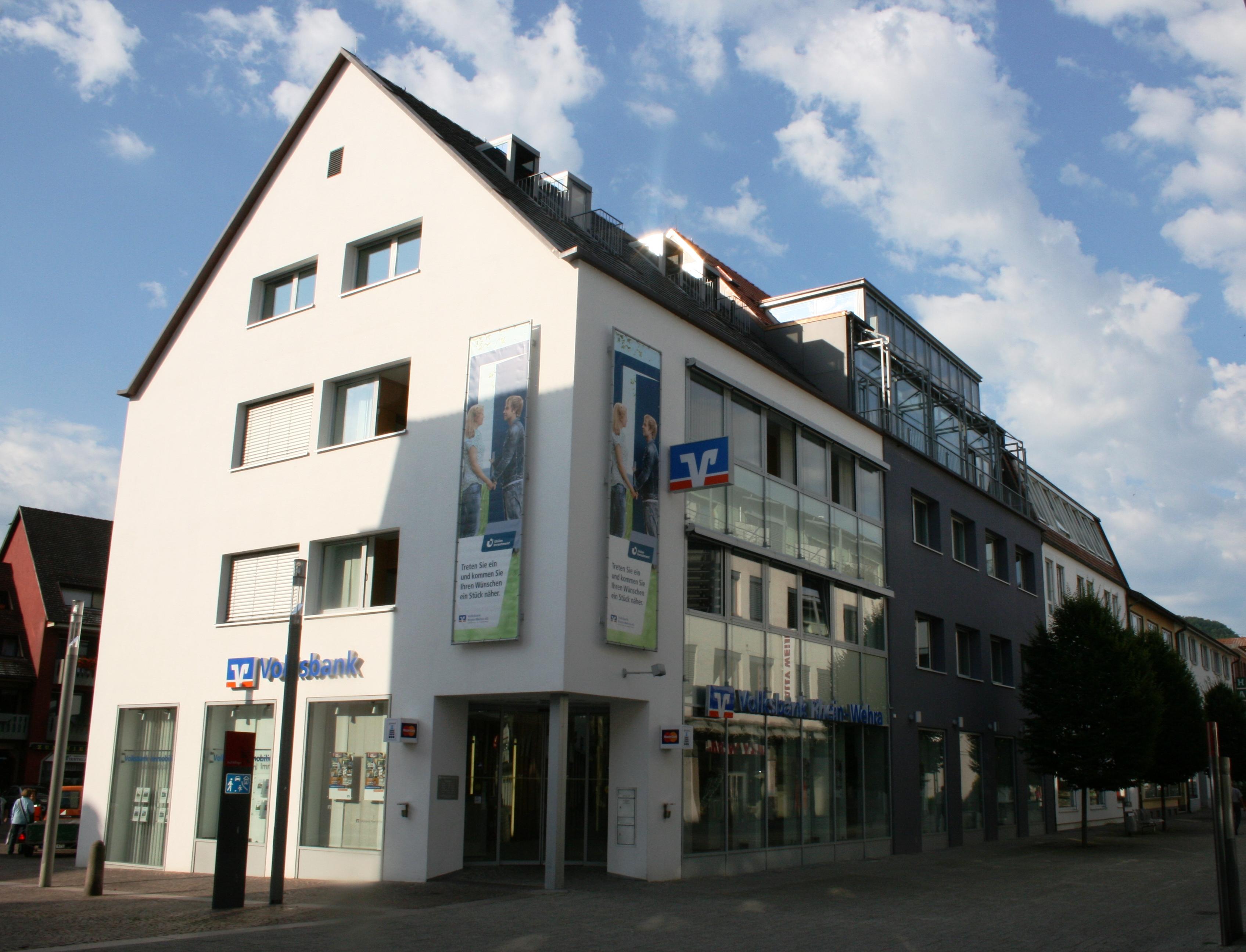 Volksbank Rhein-Wehra eG, Volksbank Rhein-Wehra eG, Schützenstr. 7-11, 79713, Bad Säckingen