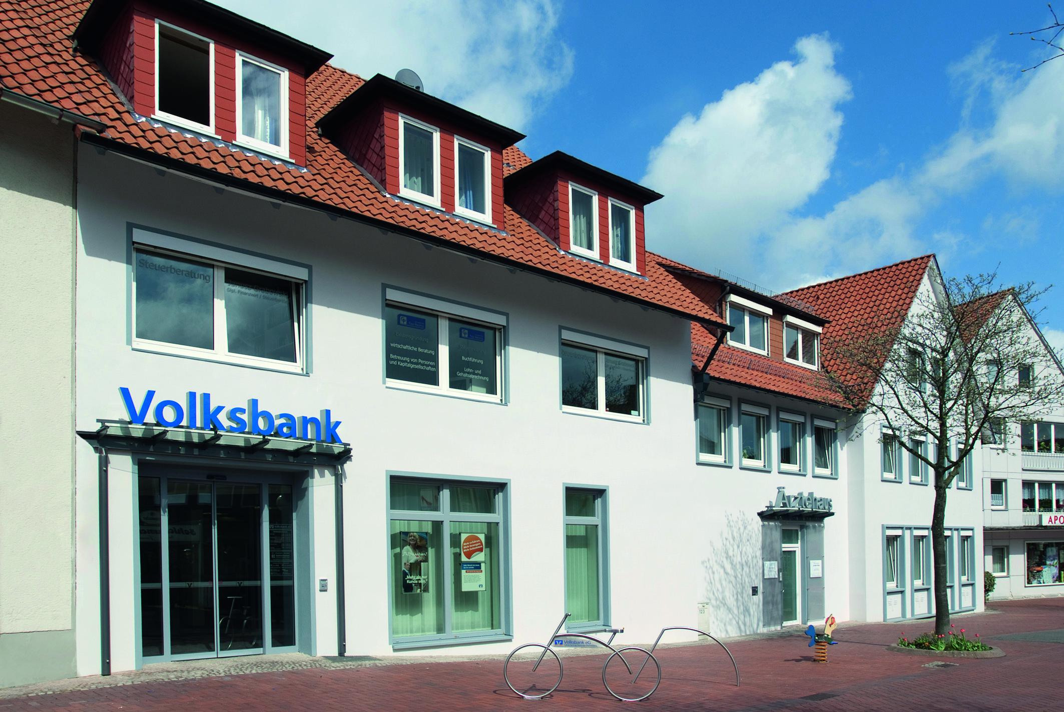 Volksbank eG Hildesheim-Lehrte-Pattensen, Volksbank eG Betreuungsgeschäftsstelle Springe, Zum Niederntor 2-4, 31832, Springe