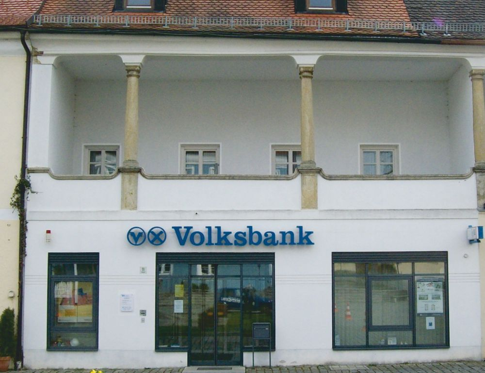 Volksbank Straubing eG, Volksbank Straubing eG, Geschäftsstelle Schwarzach, Marktplatz 11, 94374, Schwarzach