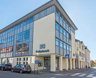 Volksbank Allgäu-Oberschwaben eG, Volksbank Allgäu-Oberschwaben eG Hauptstelle Wangen Poststraße, Poststraße 9, 88239, Wangen im Allgäu