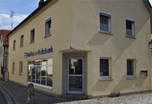 Raiffeisen-Volksbank Haßberge eG, Raiffeisen-Volksbank Haßberge eG, Filiale Wonfurt, Kirchgasse 2, 97539, Wonfurt