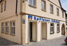 Raiffeisen-Volksbank Haßberge eG, Raiffeisen-Volksbank Haßberge eG, Filiale Zeil, Hauptstr. 1, 97475, Zeil